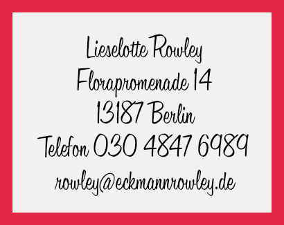 Eckmann & Rowley, Text · Kommunikation